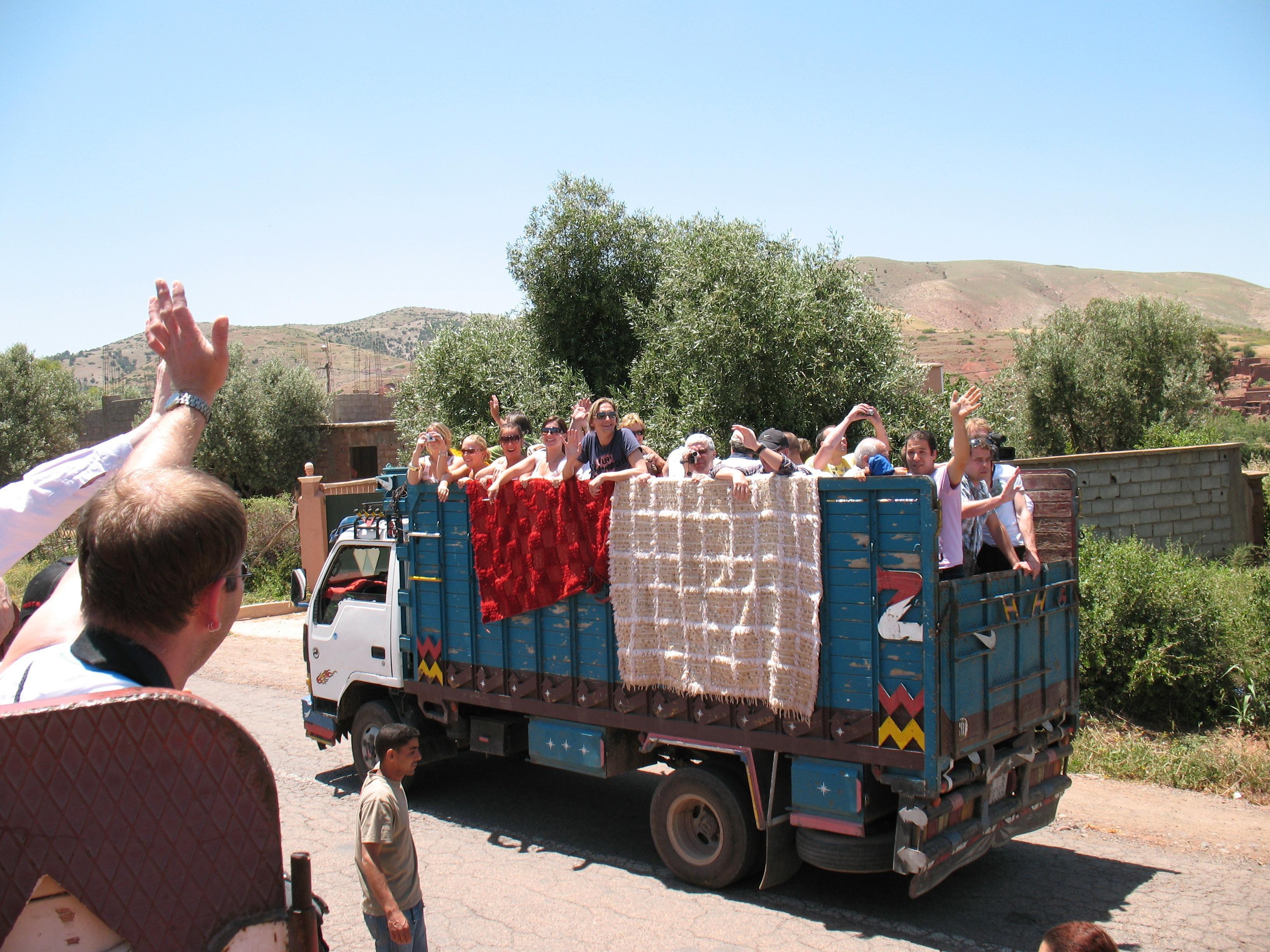 Van der Leij beleeft sprookjesachtig Marrakech - Als Groep Op Reis