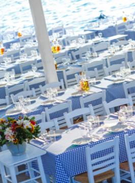 Mykonos Diner Sea Satin Rest EM 2 - Als Groep Op Reis