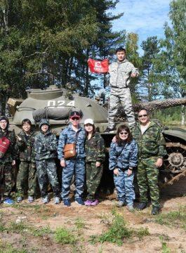St Petersburg Day in Russian Army Afbeelding2 - Als Groep Op Reis