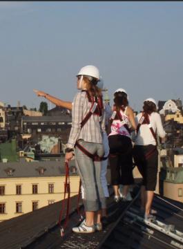 Stockholm dak klimmen - Als Groep Op Reis