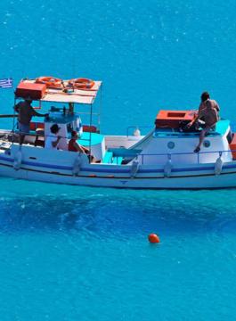 Mykonos Boat Hopping EM 1 - Als Groep Op Reis