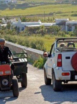 Mykonos Jeep Safari EM 2 - Als Groep Op Reis