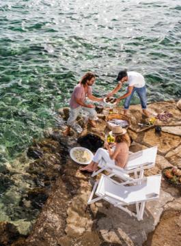 Mykonos Lunch experience sea EM 4 - Als Groep Op Reis